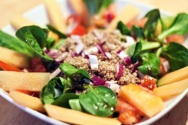 Quinoa-Melonen-Salat