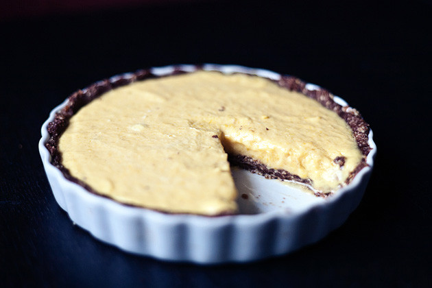 Gefrorene Mango-Tarte