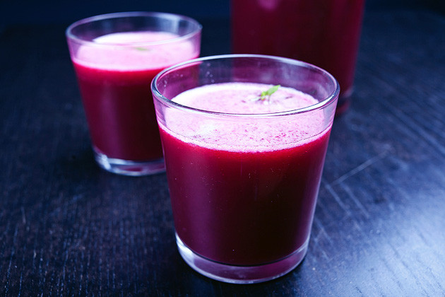Saft: Rote Bete & Frucht