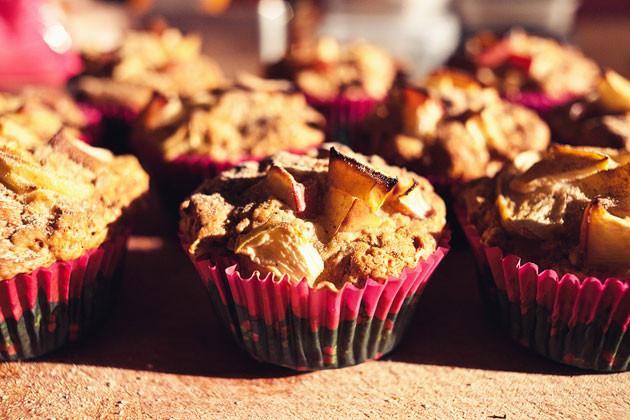 Apfel-Chai Muffins