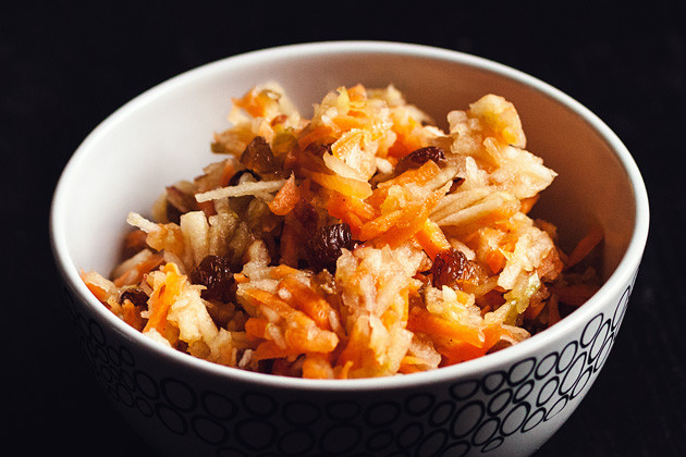Karotten-Apfel- Salat