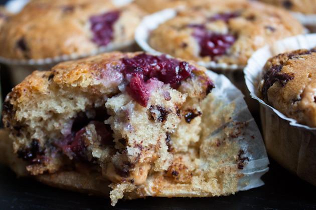 Kirsch- Schoko- Muffins