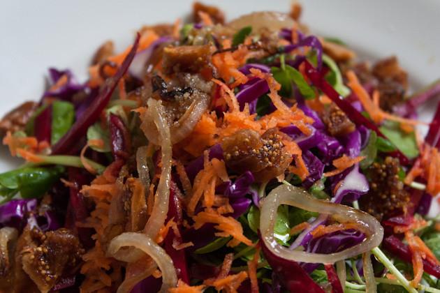 Radicchio- Feigen- Salat