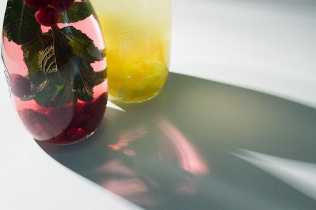 mango ingwer himbeer minz drink vegan guerilla. Black Bedroom Furniture Sets. Home Design Ideas