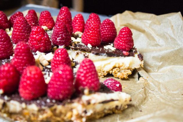 No Bake Vanille- Griesskuchen