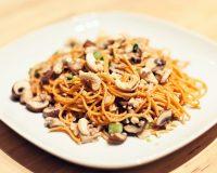 Nussige Chili-Spaghetti