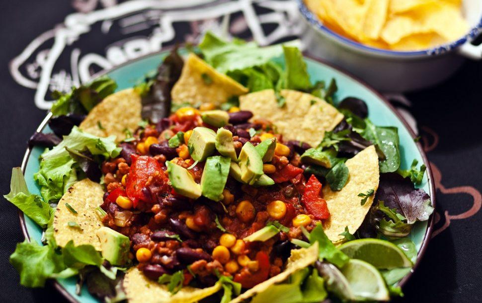 Outdoor Küche Vegetarisch : Chili sin carne vegan guerilla