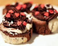 Kokos Kakao Cupcakes