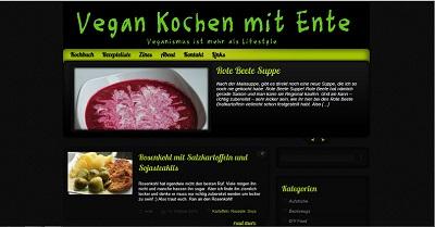 Vegan Kochen mit Ente
