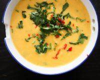 Pastinaken- Süßkartoffel- Suppe