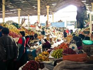 Markt in Peru. (2006)