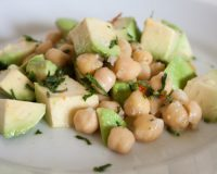 Avocado- Kichererbsen- Salat