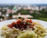 Rohe Zucchini- Pasta