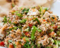Bulgur-Brokkoli Salat