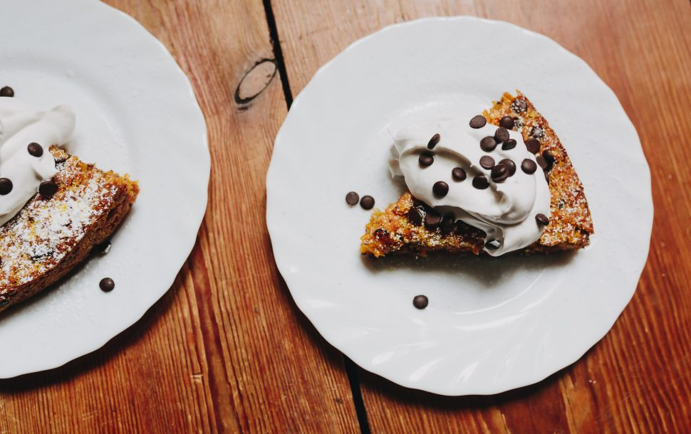 Kuerbis Schoko Kuchen Vegan Guerilla