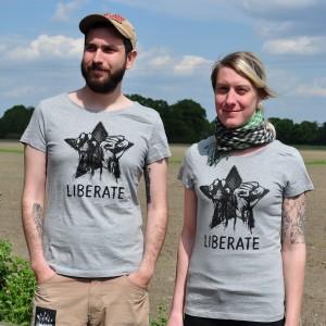 liberate tshirt tailliert xl und m