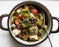 Nopales- Bohnen- Salat