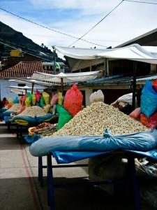 Copacabana, Bolivien (ja, das ist Popcorn)