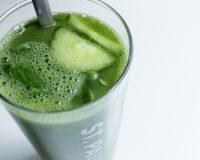 Gerstengras- Gurken- Drink