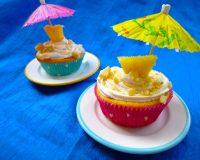 Ananas- Kokos- Cupcakes mit Macadamia