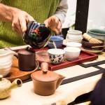 Matcha und andere Teeprodukte
