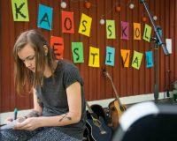 Kaos Skola: Veganes Festival in Schweden