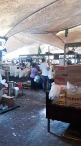 Ver-O-Peso: in diesem Teil des Marktes werden ausschließlich verschiedene Mehlsorten gehandelt