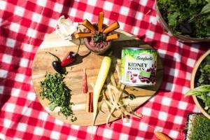 Picknick-Vorbereitung