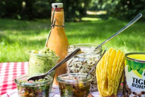 Weitere Zutaten für die Kalte Tacos mit Bohnen und Goldmais