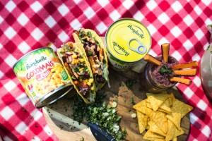Kalte Tacos mit Bohnen und Goldmais®
