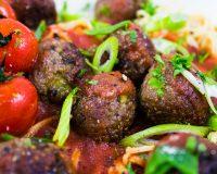 No-Meat-Balls: Quinoa & Kastanie