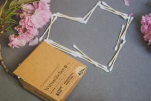 HYDROPHIL Wattestäbchen aus Bambus & Bio-Baumwolle