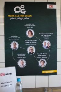 Foodblogger in Fahrt - kulinarische Jahresaktion der DB